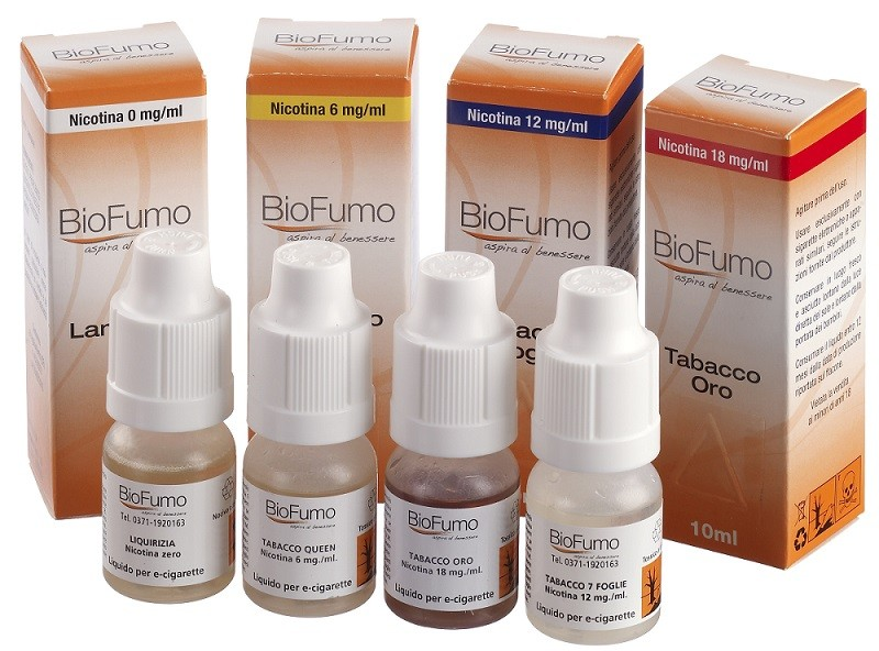 Liquido Biofumo Tabacco Strong 30 ml